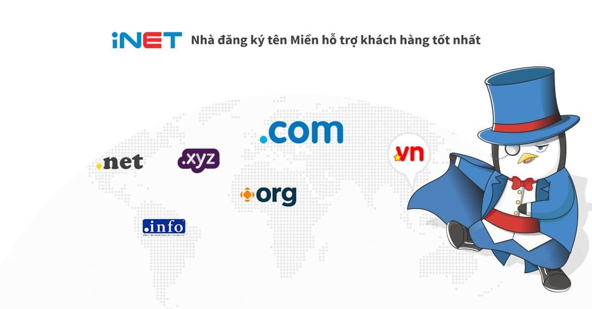 Én Web- Đại lý mau tên miền, đăng ký tên miền hàng đầu