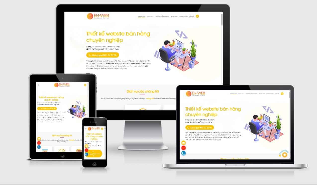 Thiết kế website trọn gói Đà Nẵng - Chăm sóc website