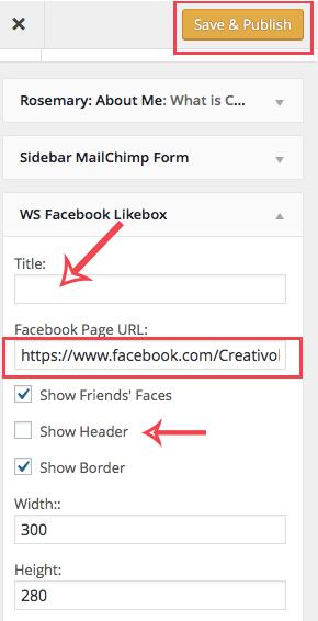 Chèn fanpage vào website bằng plugin