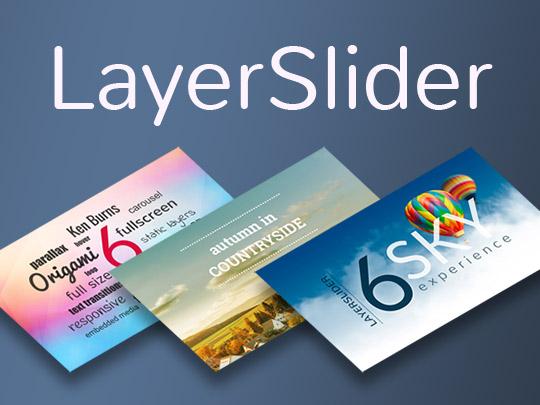 Plugin tạo slide ảnh trong wordpress Layer Slider