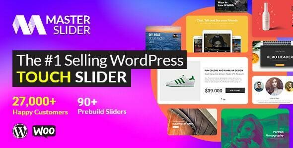 Plugin tạo slide ảnh trong wordpress Master Slider