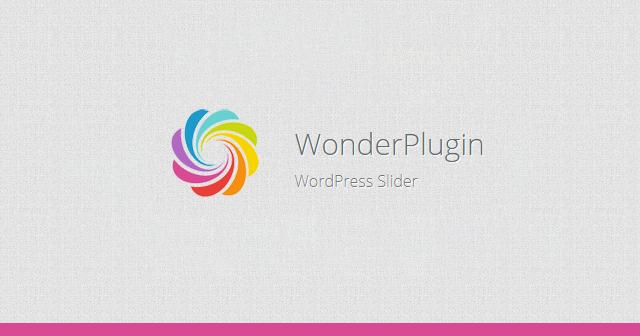 Tạo slide ảnh trong wordpress bằng plugin WordPress Wonder Plugin