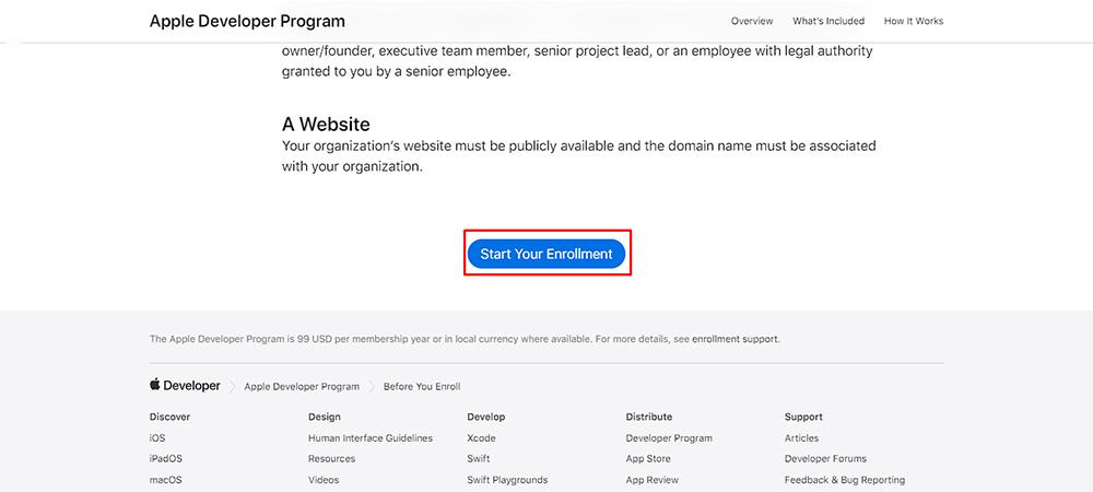 Tiến hành đăng ký tài khoản