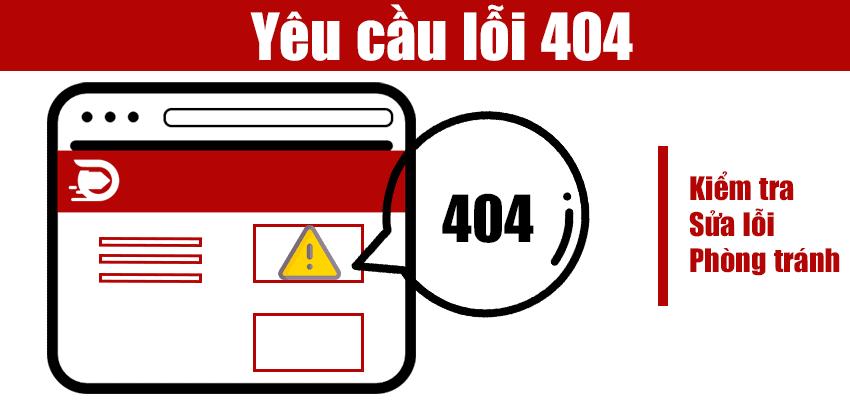 Thông qua các công cụ để kiểm tra lỗi 404 nhanh chóng chính xác